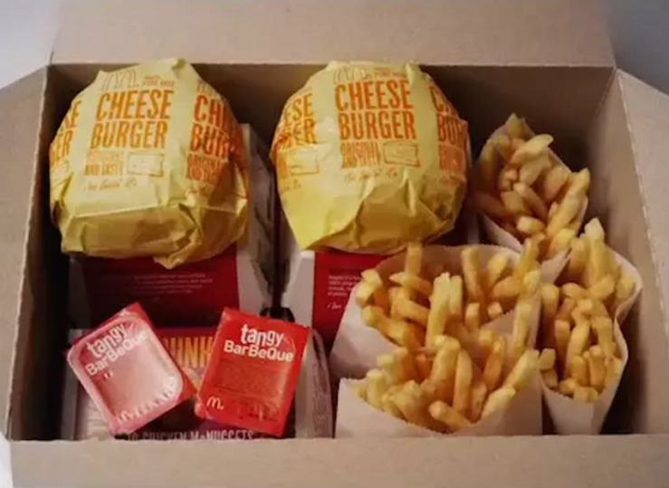 McDonalds Dinner Box