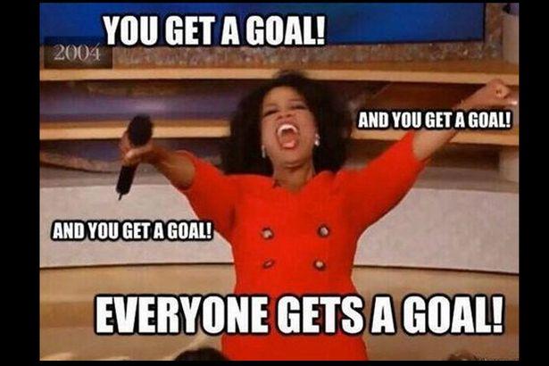 You get a goal