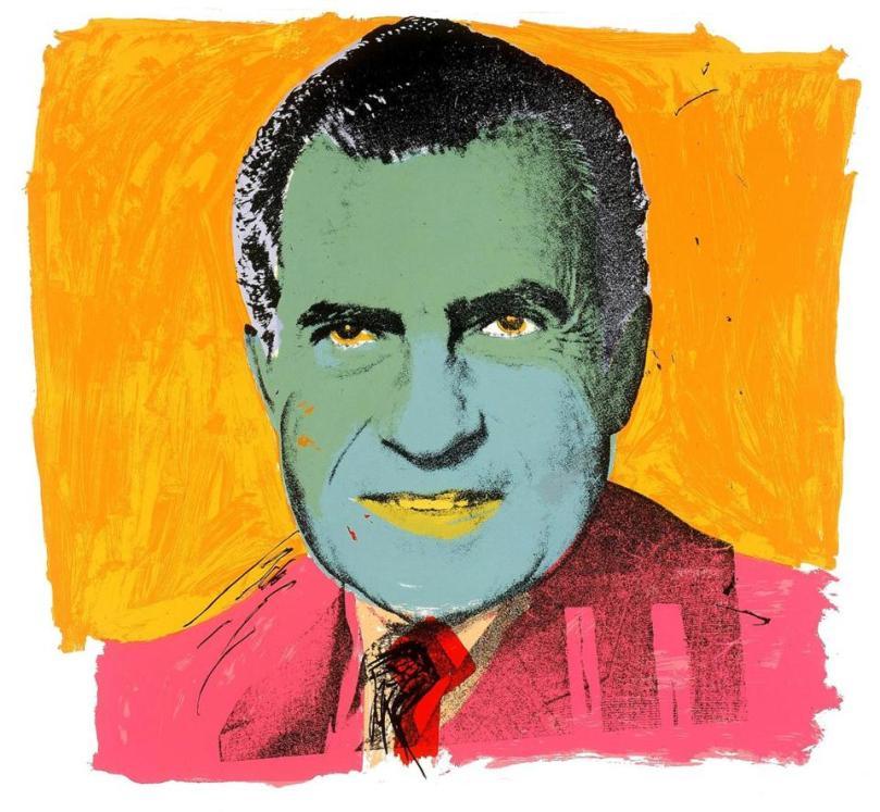 Warhol Nixon