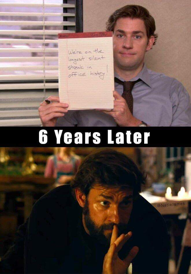 A Quiet Place Funny