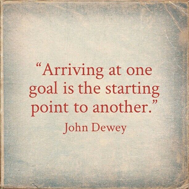 Arriving At One Goal