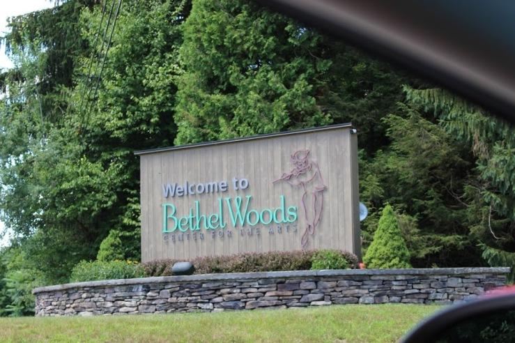 Bethel Woods Sign