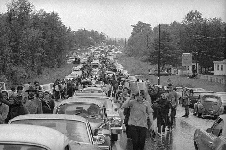 Woodstock Traffic Jam