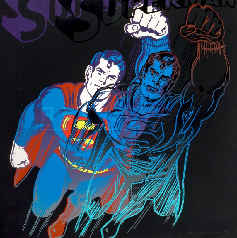 Warhol Superman