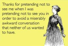 Awkard Ex Conversation